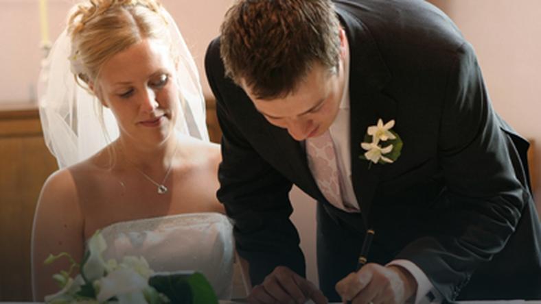 Kościelne Formalności ślub
