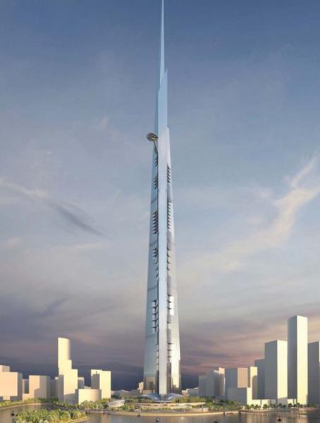 Kingdom Tower - wizualizacja