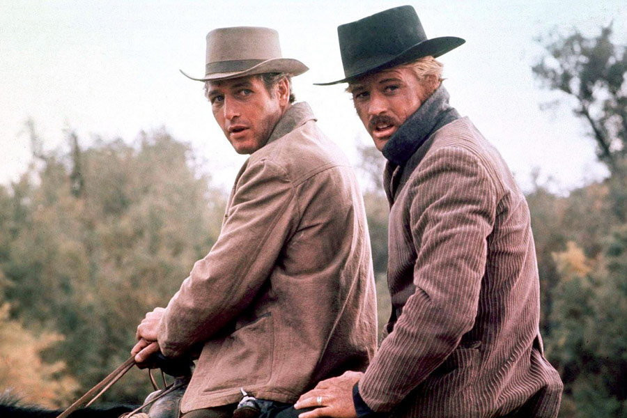 """Butch Cassidy i Sundance Kid"", reż. George Roy Hill, 1969 r."