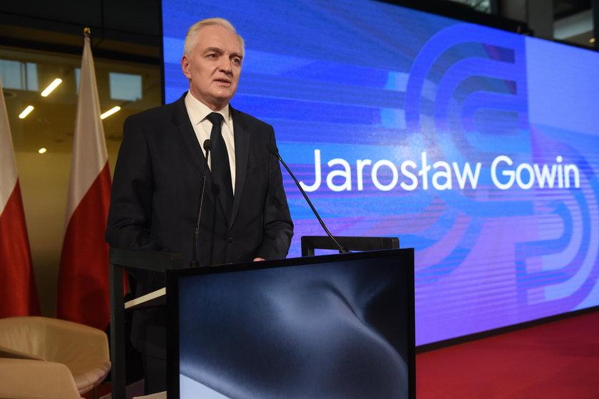 Jarosław Gowin, wicepremier i minister szkolnictwa wyższego
