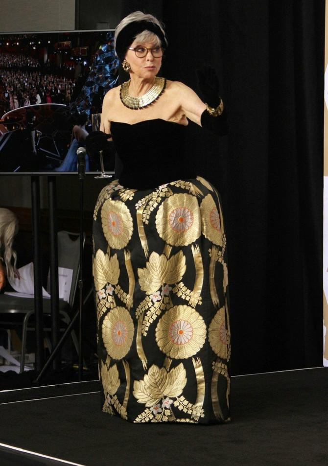 Rita Moreno izgledala je kao devojčica