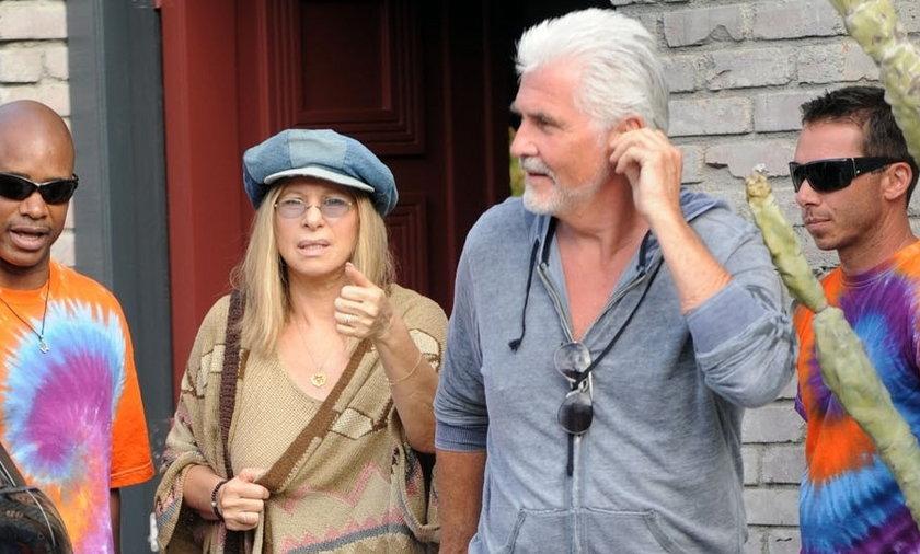 Barbra Streisand and husband, James Brolin.