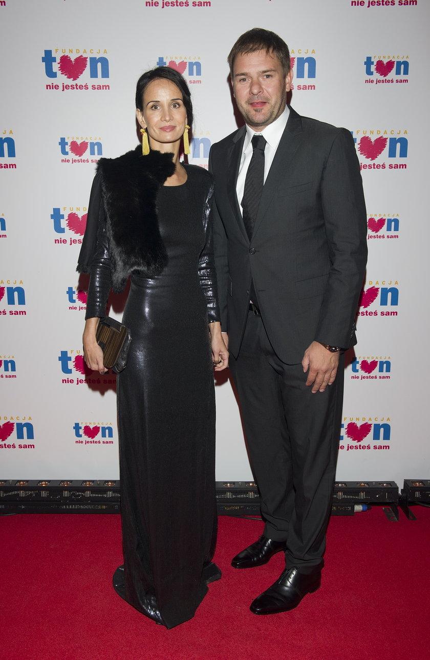 Violetta Kołakowska i Tomasz Karolak