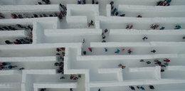To największy lodowy labirynt na świecie