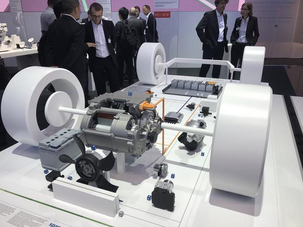 Elektryczny układ napędowy od Boscha czyli e-oś