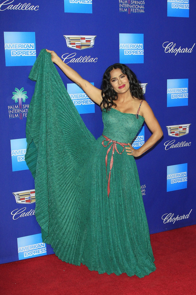 Salma Hayek na Palm Springs International Film Festival