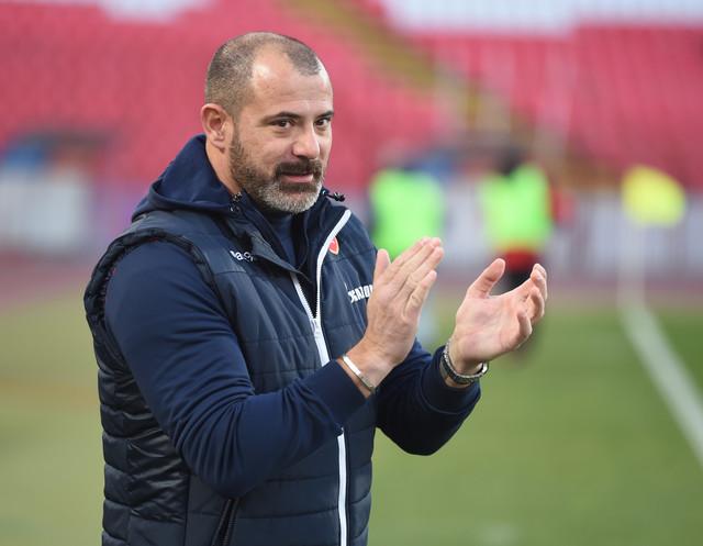 Detalj sa meča FK Crvena zvezda - Proleter