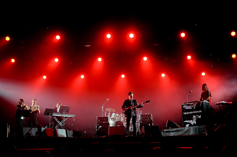 These New Puritans (fot. Artur Rawicz / Onet)
