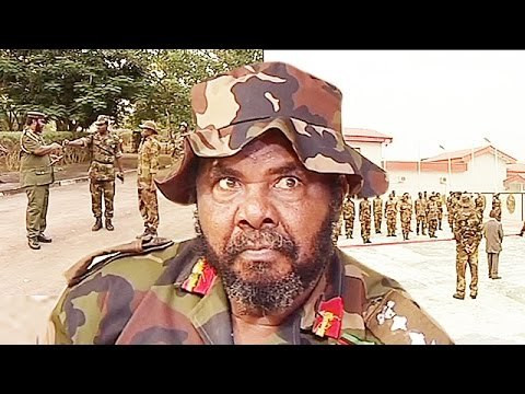 Contrary to Sugabelly's opinion, Pete Edochie plays a role of a military officer in this Nollywood movie. (DoroTV)