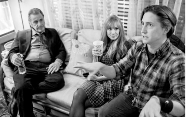 """Al Pacino, Holly Hunter i David Gordon Green na planie """"Manglehorn"""". Film wchodzi dziś na ekrany polskich kin"""