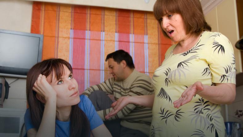 Ja, teściowa i... nasze dziecko