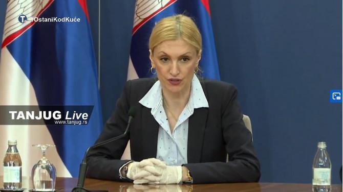 Dr Ivana Milošević na današnjoj konfrenciji
