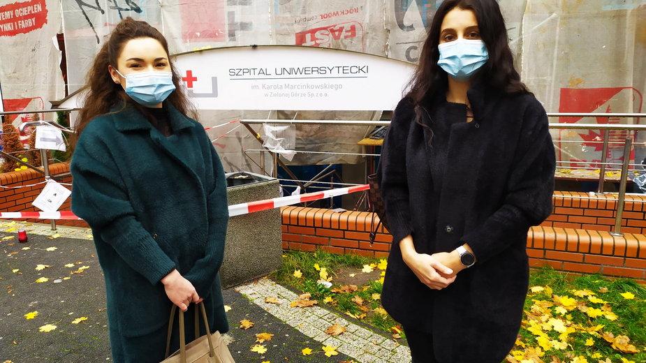 Studentki medycyny pracują jako wolontariuszki od początku pandemii