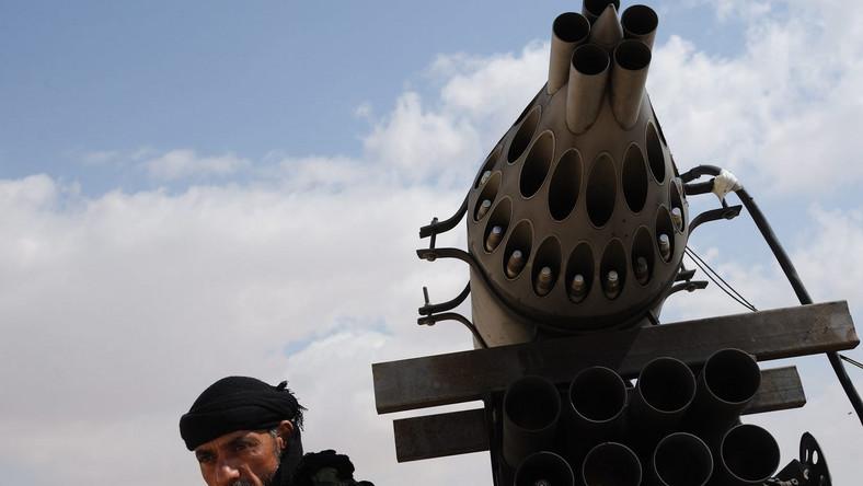 Powstaniec w Libii
