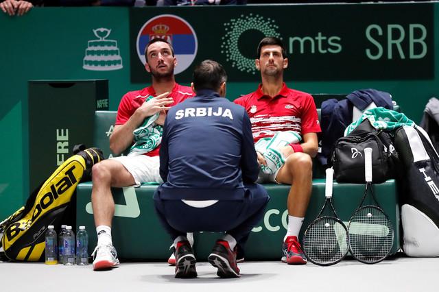 Viktor Troicki i Novak Đoković