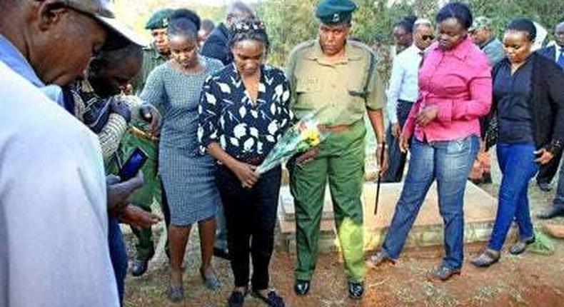 Sarah Wairimu's speech an insult to us – Uhuru's cousin response after burial speech