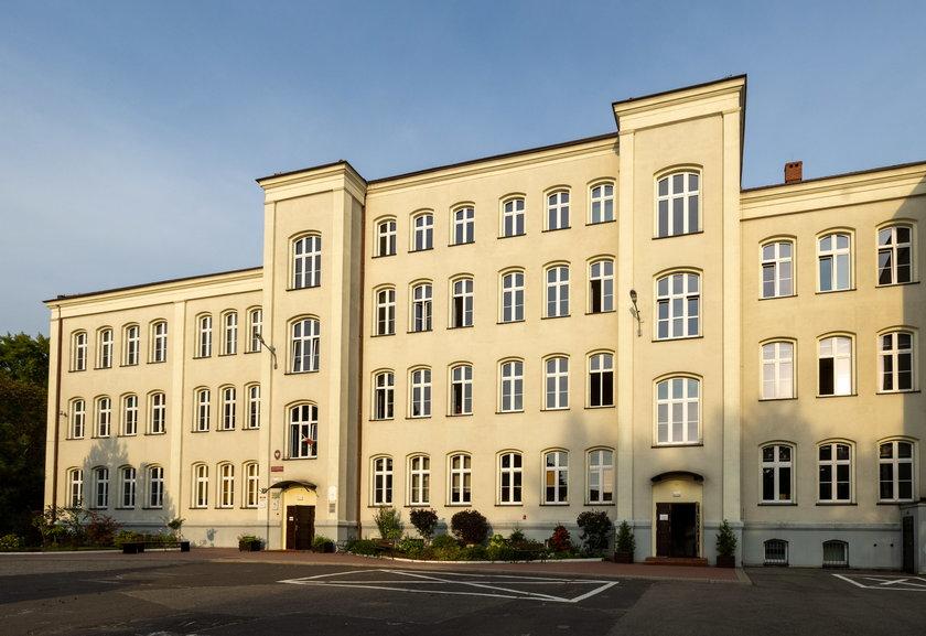 Budynek zabrzańskiej szkoły