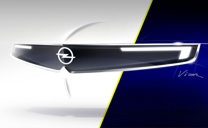 """Motyw """"Vizor"""" debiutujący w GT X Experimental będzie nadawał nowy wizerunek przyszłym modelom Opla"""