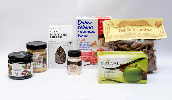 Paket zdravih namirnica može biti vaš!