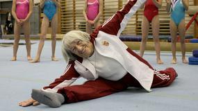 Słynna gimnastyczka ma 95 lat i wciąż jest w świetnej formie