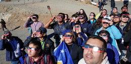Mieszkańcy Ameryki Południowej podziwiali zaćmienie Słońca