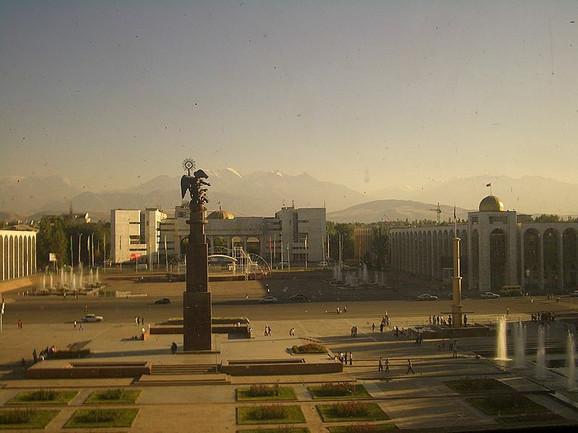 Biškek, glavni grad Kirgistana