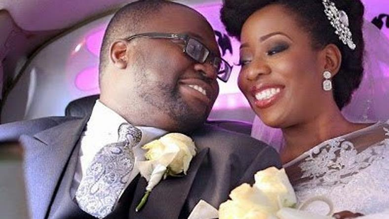 The blogger and her beau tied the knot in 2014