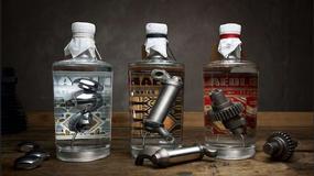 Harley-Davidson utopiony w butelkach ginu