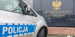 Dramat w sądzie w Poznaniu. Podpalił się na rozprawie