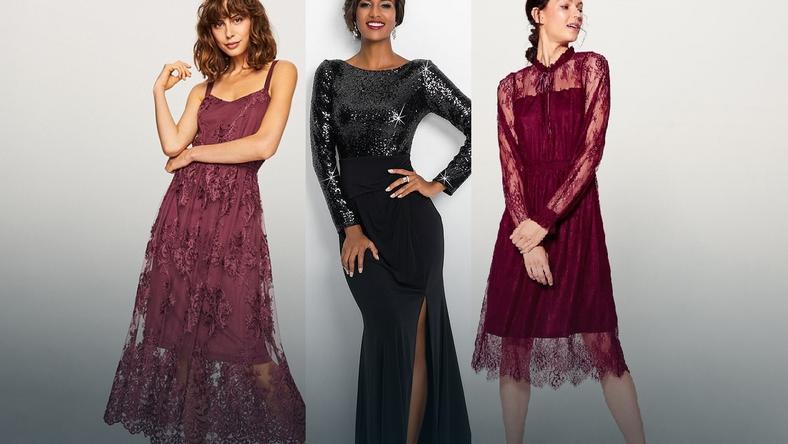9f6489d2c1 Sukienki na jesienne i zimowe wesela - Moda