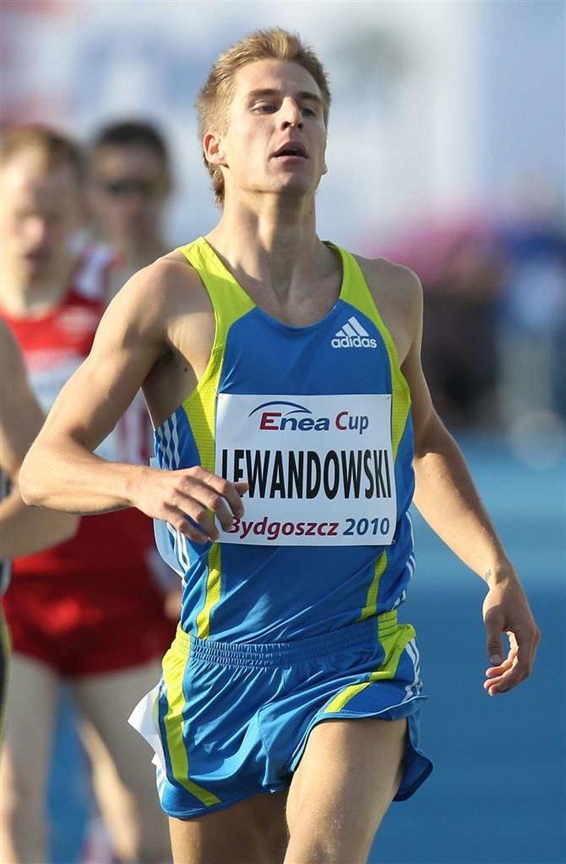 Marcin Lewandowski chce wygrać Diamentową Ligę w biegu na 800 metrów