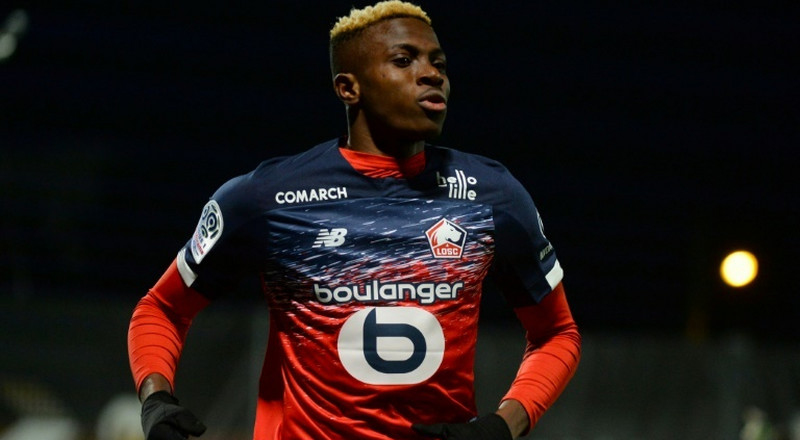 A report from France says Manchester United are in the hunt for Victor Osimhen