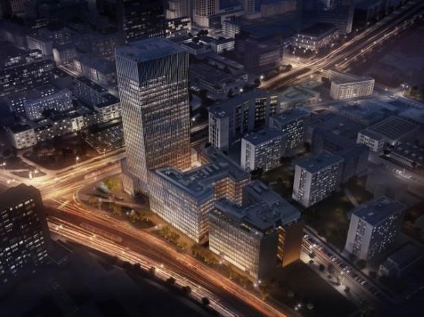 Spark powstaje na rogu ulicy Towarowej i Okopowej w Warszawie. Autorem projektu architektonicznego biurowców jest pracowania Kuryłowicz & Associates. Kompleks będzie się składał z trzech budynków, w tym 130-metrowego wieżowca. Łączna powierzchnia biurowa budynków sięgnie 70 tys. mkw. Prace na budowie kompleksu rozpoczęły się w połowie 2016 roku.