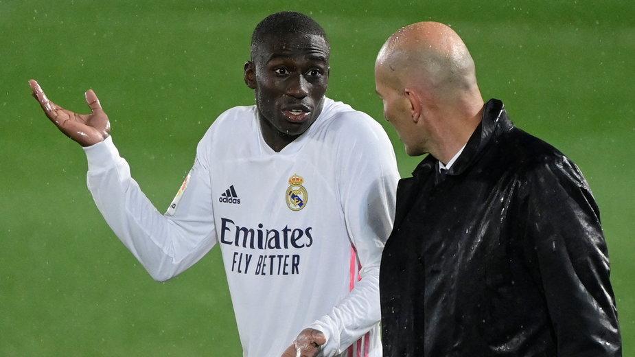 Ferland Mendy i Zinadine Zidane