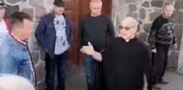 Awantura przed kościołem w Nowielinie. Parafianie zabrali księdzu klucze do kościoła