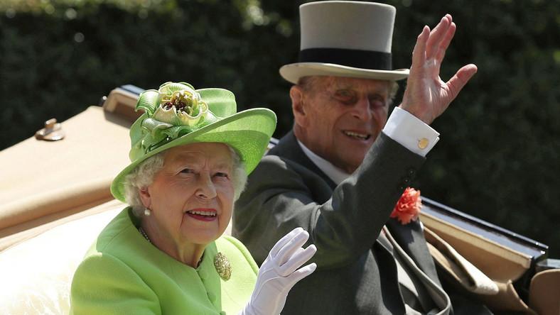 Królowa Elżbieta i książe Filip