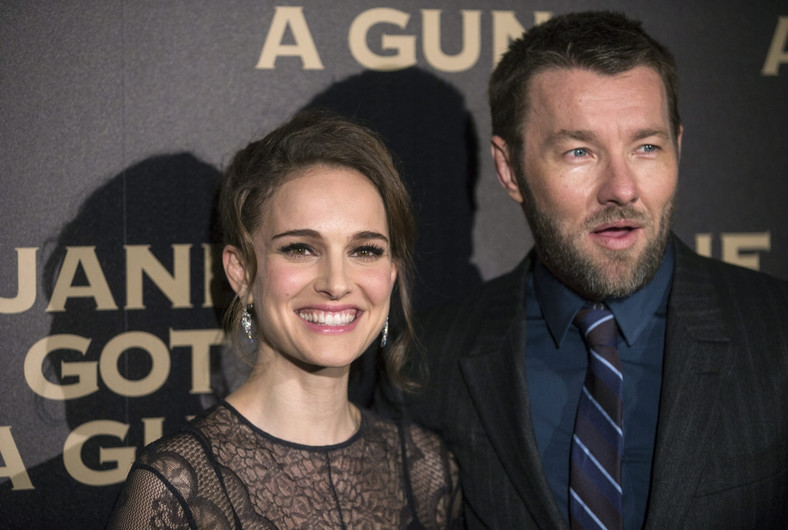 Natalie Portman i jej filmowy partner Joel Edgerton
