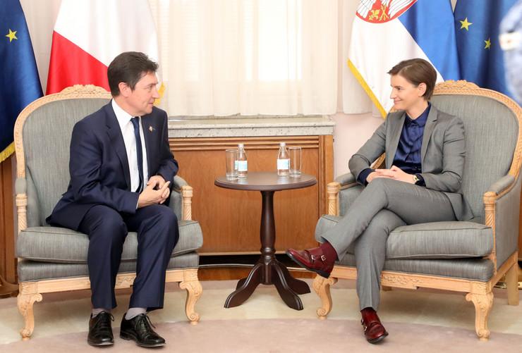 Ana Brnabić, Tanjug, Vlada Srbije