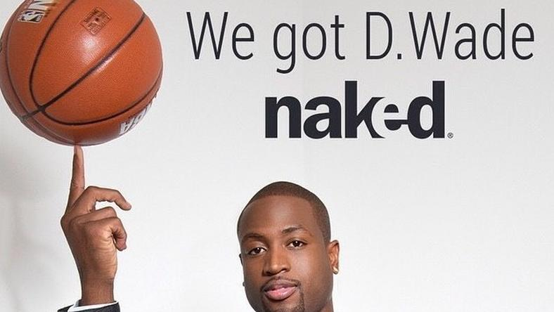 Dwyane Wade partners with Naked