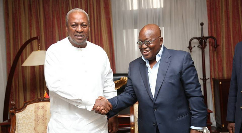 'Shameless Akufo-Addo accepted money in a brown paper like a mafia chieftain' – Mahama