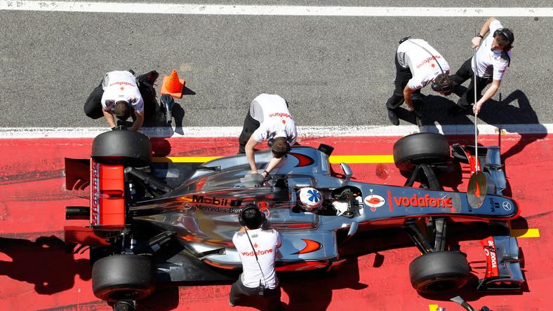 Jenson Button był szybki podczas treningów przed GP Hiszpanii