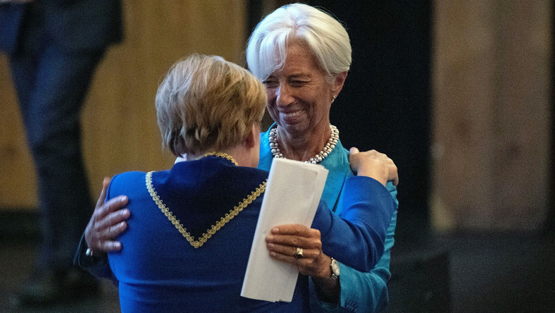Christine Lagarde i Angela Merkel