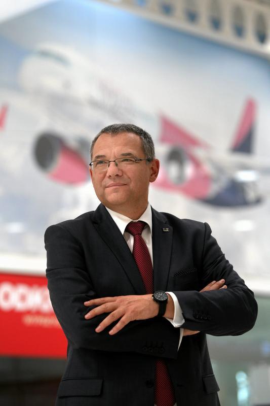 Krzysztof Wójtowicz, prezes Portu Lotniczego Lublin