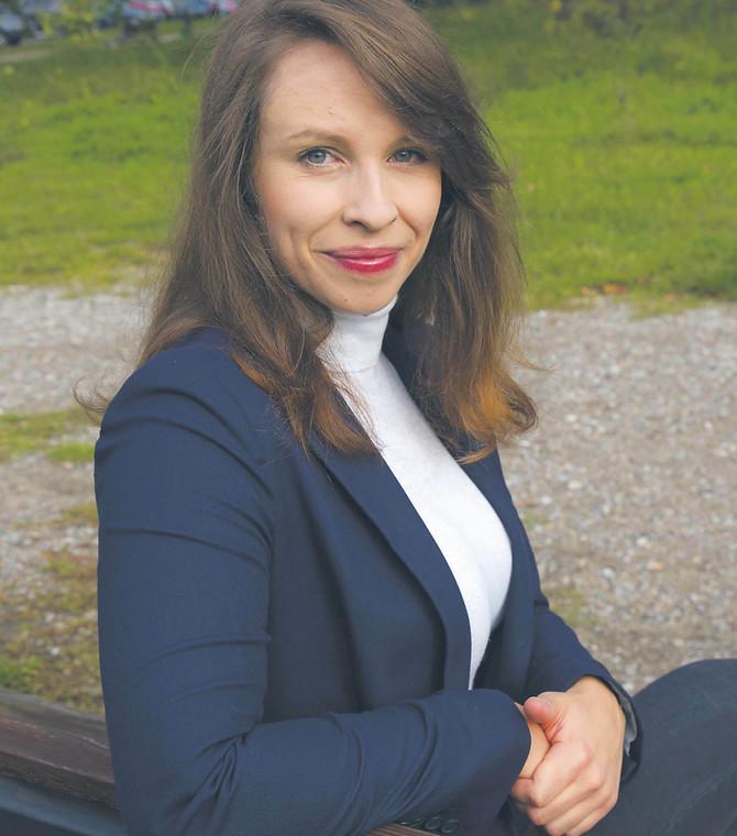 Anna Iżyńska, Stowarzyszenie Otwarte Klatki, które walczy m.in. o wprowadzenie zakazu hodowli zwierząt futerkowych  fot. Wojtek Górski