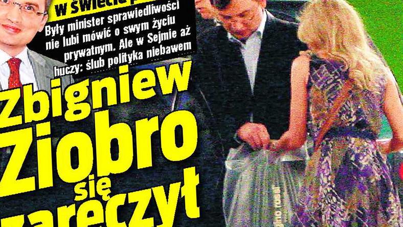 Zbigniew Ziobro się zaręczył!