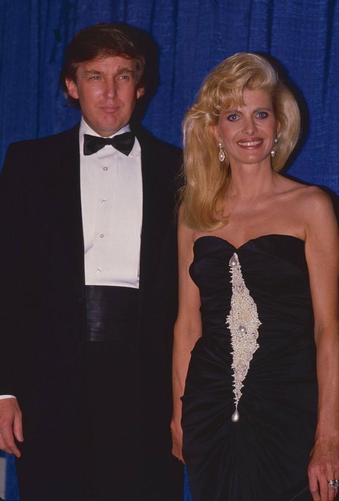 Bivši supružnici Ivana i Donald Tramp