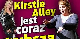 Kirstie Alley jest coraz grubsza