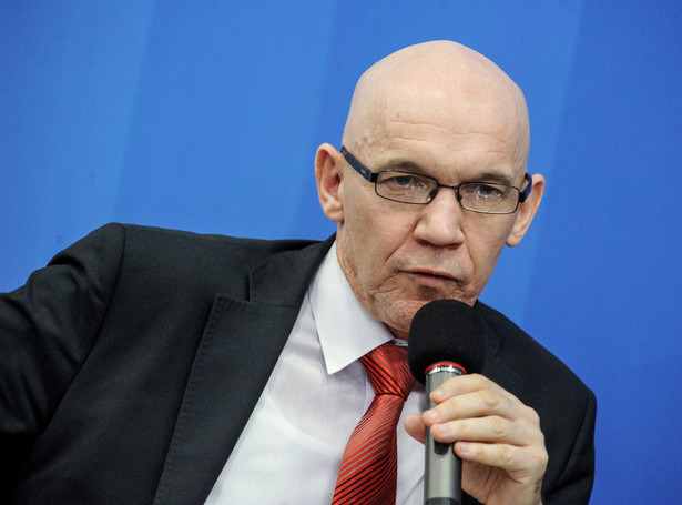 Wiceminister finansów Wiesław Jasiński