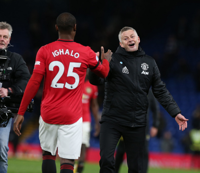 Ole Gunnar Solskjaeris hopeful of keeping Ighalo until the end of the extended season (Getty Images)