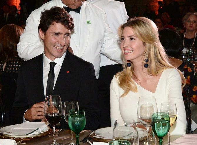 Ivanka Tramp i Džastin Trudo pre dva dana na Samitu najmoćnijih žena i gala večeri u Vašingtonu